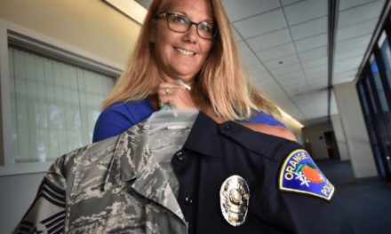 Orange detective reached top of Air Force's enlisted ranks by heeding her mom's advice