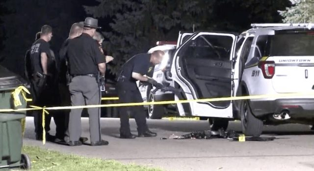 Uniontown Police Officer Shot During Domestic Violence Call