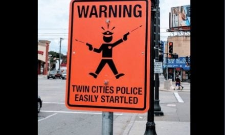 Road Sign Insults All Law Enforcement