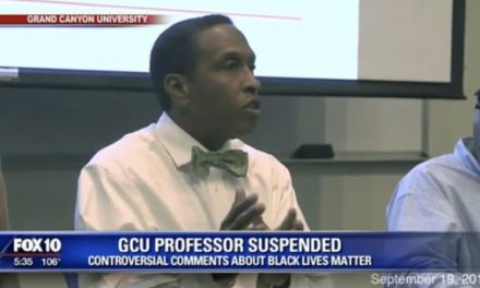 Arizona University Professor Suspended For Critical Comments of BLM