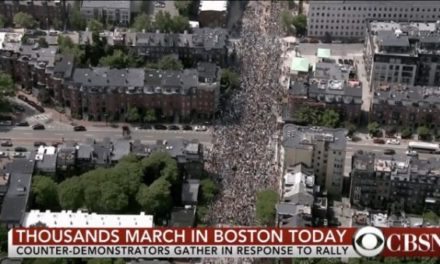 40,000 in Attendance, 33 Arrests Made During Boston Rally