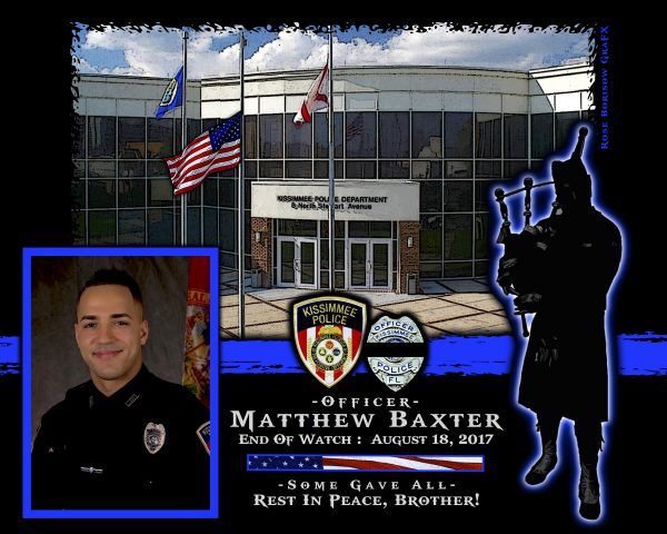 In Memoriam Officer Matthew Baxter