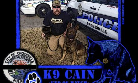 K9 Cain Stabbed to Death by Fleeing Suspect