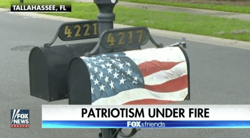 Veteran Ordered to Remove American Flag Wrap on Mailbox