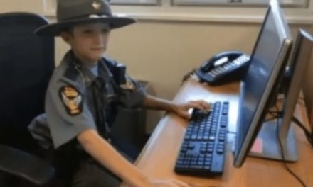 Boy Suffering From Apraxia Made Honorary Trooper by Ohio State Highway Patrol