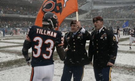 While NFL players are taking a knee during the national anthem, one former All Pro seeks to join the FBI