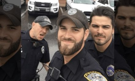 Women Are Swooning on Social Media for Gainesville Cops