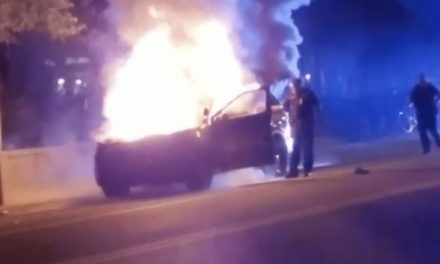 Police car burned, 3 arrested in clash at Georgia Tech following OIS