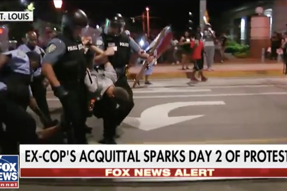 80 Arrests Made in St. Louis Protests