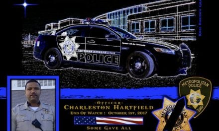 In Memoriam Officer Charleston Hartfield