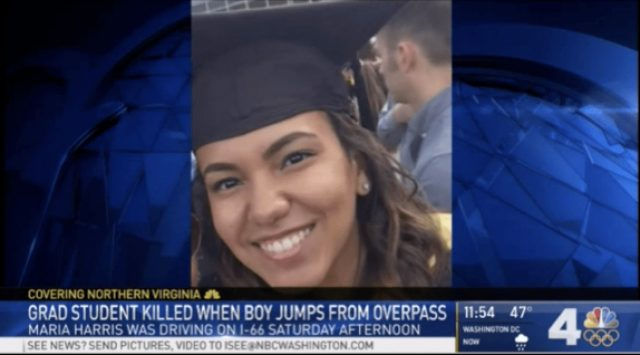 Woman Killed After Suicidal Boy Falls on SUV Traveling Beneath Overpass