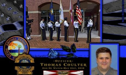 In Memoriam Officer Thomas Coulter