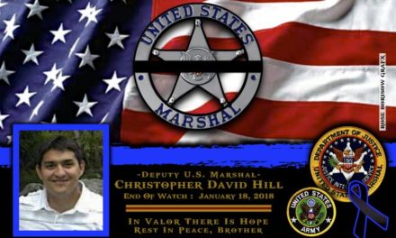 In Memoriam Deputy U.S. Marshal Christopher Hill