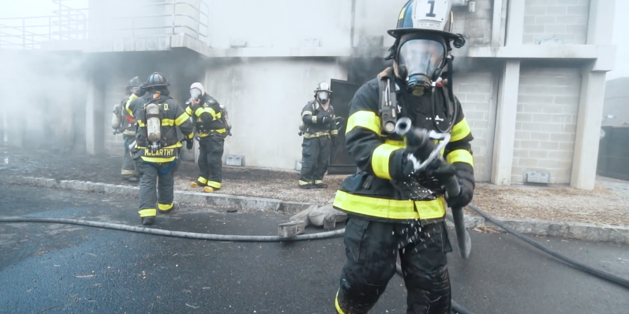 We ran into a burning building.  This is what we learned about firefighters.