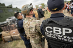 Report: 14 armed Mexican soldiers detained after crossing into Texas at an international port of entry