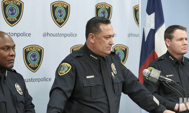 Houston Police Chief just used a murdered officer to advance his own political agenda.  He needs to resign.