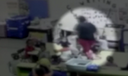 Video shows daycare teacher throwing little girl against cabinet … then lies about injury