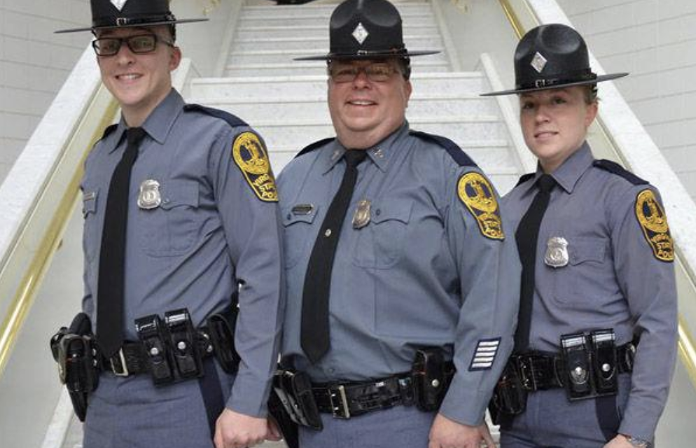 Father-daughter-son troopers make Virginia State Police history