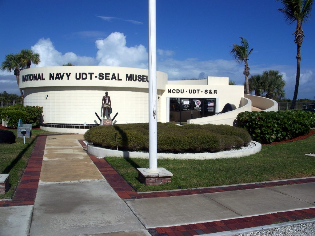 (US Navy UDT and SEAL Museum in Ft. Pierce Fl. Photo by Ebyabe - Own work, CC BY-SA 3.0, https://commons.wikimedia.org/w/index.php?curid=12232913)