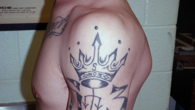 (Latin Kings Gang Member by George Filenko)