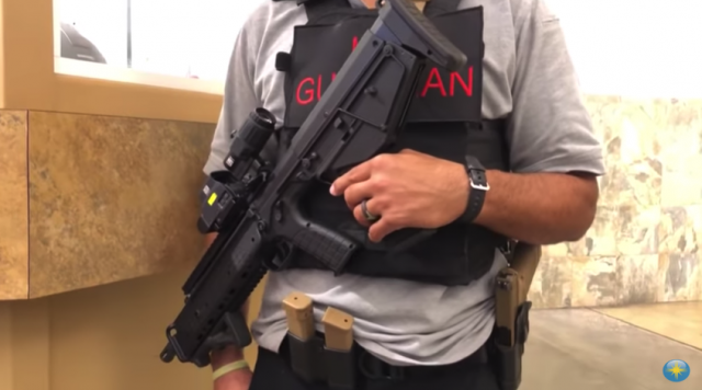 School hires combat veterans with semi-automatic rifles to protect students