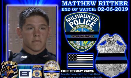 In Memoriam Officer Matthew Rittner
