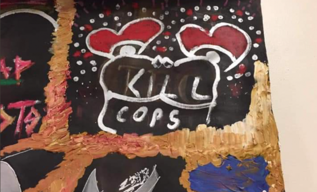 """An officer's response to the """"KILL COPS"""" student artwork"""