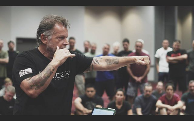 (Photo from Tony Blauer & the S.P.E.A.R. System facebook page)