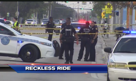 Pedestrian killed, three officers injured during pursuit of carjacking suspects