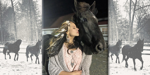 Profiles In Courage – Amy from The Unbridled Heroes Project