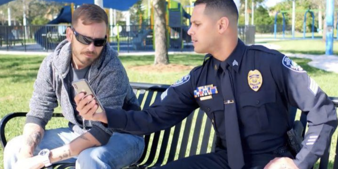 Police adopt new app in hopes of preventing veterans' suicides