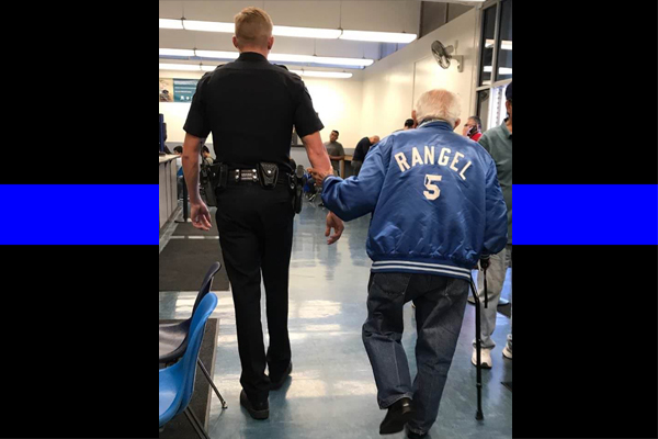 Cop To The Rescue After 92-Year-Old Kicked Out Of Bank