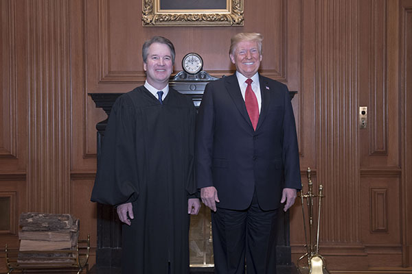 Justice Kavanaugh and the President