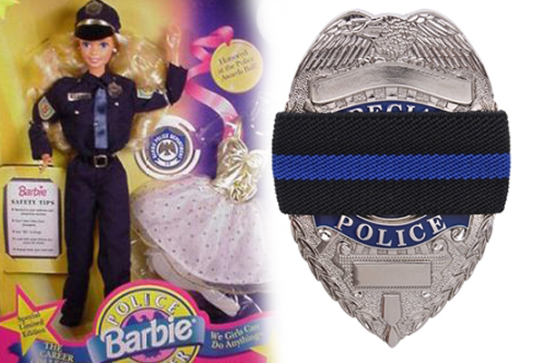 How A Barbie And A Dead Detective Turned Me Into A Cop Like My Dad