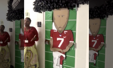 Teacher forced to remove Kaepernick tribute following complaints