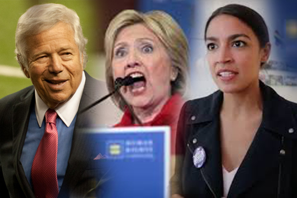 Cortez, Clinton and Kraft Can Break The Law – But Not Your Average Citizen. We're Nearing The Breaking Point.