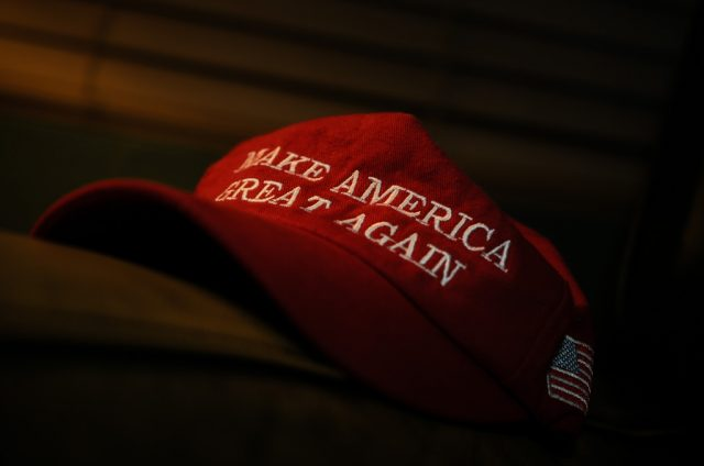 Attack on off duty cop wearing MAGA hat