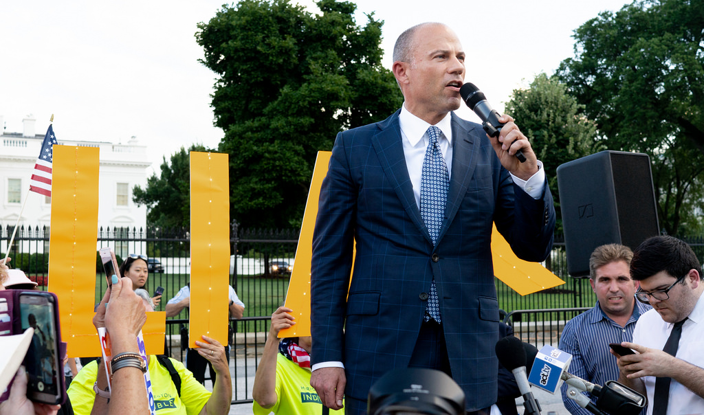 Media touted Avenatti as Trump's replacement.  He was just arrested again for violating his bail.