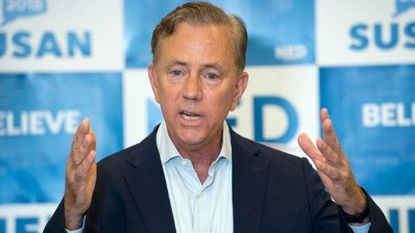 CT Governor Ned Lamont tries to school ICE, gets shut down.