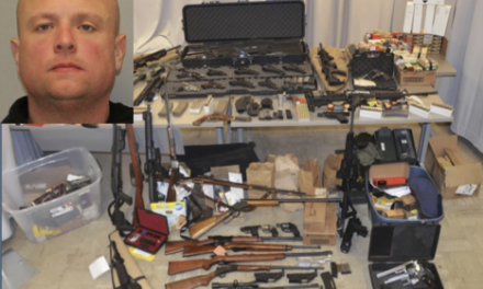 New York cop arrested for making and selling guns to motorcycle gang members