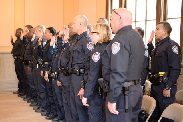 New officers take their oath at the Promotions & Swearing In Ceremony | by metrotransitmn