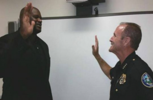 Shaq Sworn In Doral PD