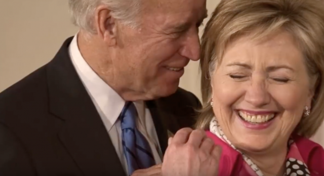 Vice President Joe Biden Caught on Camera: Screenshot from YouTube