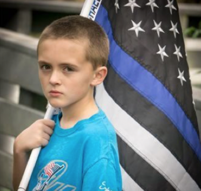 10-year-old Florida boy raises over $30K running for fallen police officers
