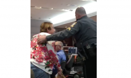 Exclusive Video: Woman removed from gun control hearing for threatening to shoot lawmaker