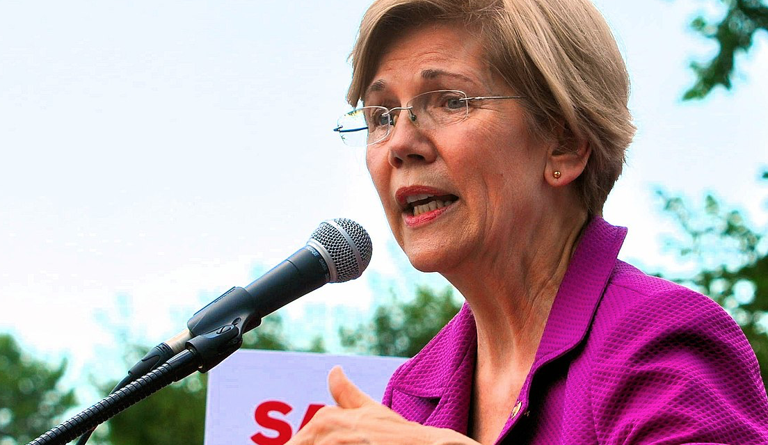 Warren's Key To Becoming President: Attacking Police and $100 Trillion In Spending