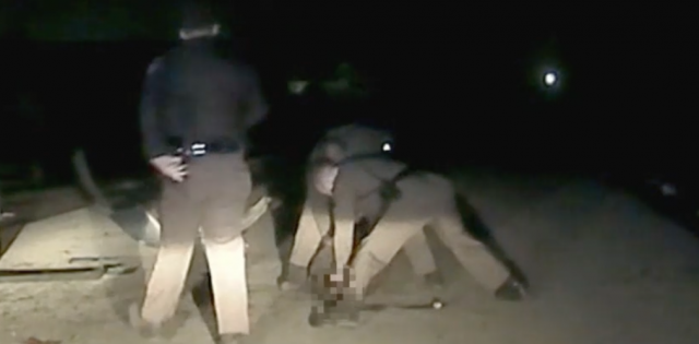Dash-cam video released shows troopers allegedly beating teenager