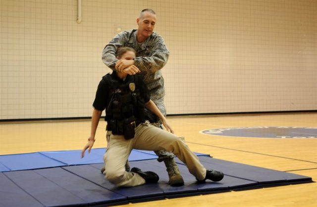 (LEO Self Defense Training from USAF)