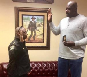 Shaq Sworn In Clayton County Sheriff
