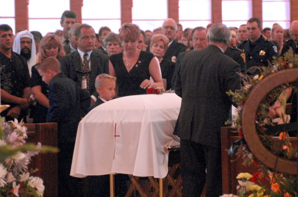 Sherry Graham Potter Leaving Tims Funeral